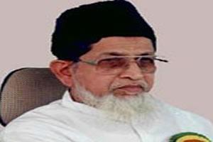 Лидер крупнейшей мусульманской организации Индии «Джамат-е-ислами Хинд» маулана Сайид Джелалуддин Умри.