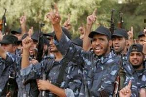 правоохранители из движения ХАМАС