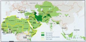 Страны исламского мира