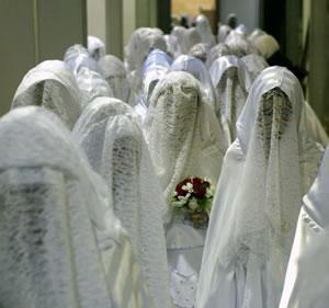 В Йемене сыграли массовую свадьбу