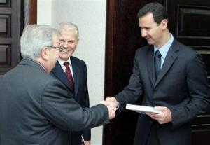 Примаков на встрече с президентом Сирии
