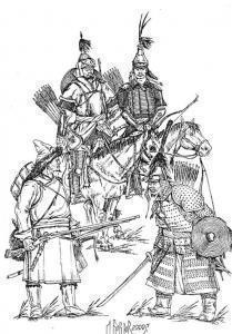 В Сибири были свои мушкетеры