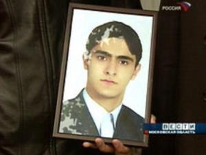 Убитый Ахмед Реза Хоррани