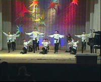 Выступление татарского танцевального коллектива