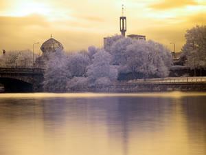 Мечеть в Глазго.