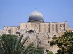 Вот так в действительности выглядит мечеть Аль-Акса