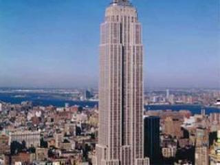Небоскреб Empire State Building.