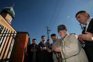 Открытие мечети в селе Герменчук.