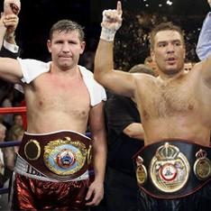 Два чемпиона мира - Султан Ибрагимов и Руслан Чагаев