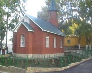 Мечеть в колонии ИК-10 г. Менделеевска РТ.
