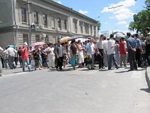 Митинг крымских татар в центре Симферополя
