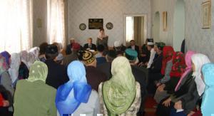 Паломники на встрече с представителями  областной администрации