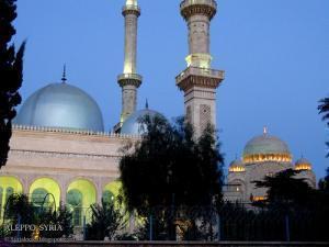 Мечеть в городе Алеппо, Сирия