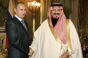 Встреча В. Путина и наследного принца КСА Абделя Азиза аль-Сауда в Кремле