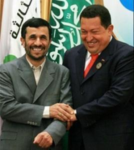 М. Ахмадинежад и У. Чавес.