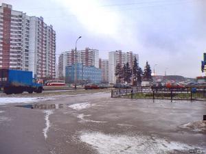 Москва. Боровское шоссе