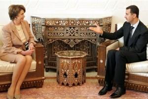 Встреча Нэнси Пелоси и Башара Асада
