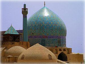 Купола Большой мечети, Исфахан.