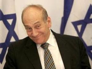 Израильский премьер Эхуд Ольмерт