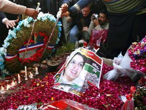 Похороны Б. Бхутто.
