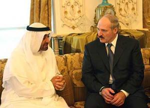 Встреча Александра Лукашенко с принцем Абу-Даби шейхом Мохаммедом бин Зайд Аль Нахайаном, 5 марта 2007г.