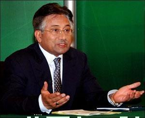 П. Мушарраф.