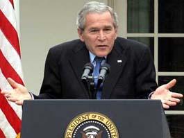 Посчитаны ложные заявления Буша и его ближайших соратников об Ираке