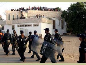 Принудительный вывод еврейских поселений из сектора Газа