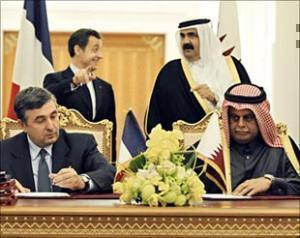Французский президент подписал контракт на 470 миллионов.