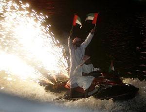 Открытие торгового фестиваля в Дубаи
