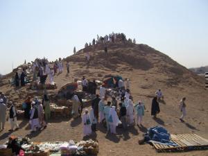 Паломники на горе Ухуд