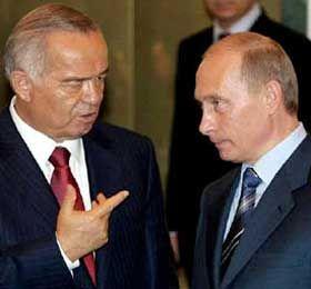 Исламу Каримову помогает военная поддержка России