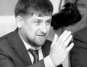 Кадыров выходит в Интернет
