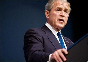 Дж. Буш.