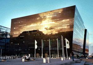 Здание Королевской библиотеки в Копенгагене