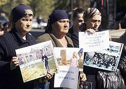 Активисток «Голоса Беслана» обвиняют в избиении судьи и судебных приставов