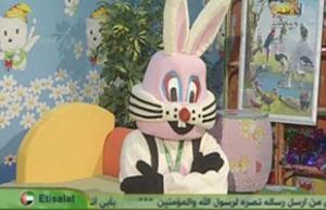 """Палестинский кролик Асад беседует с детьми о """"карикатурном скандале"""""""
