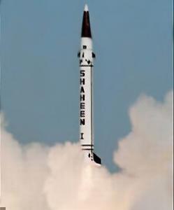 Пакистанская баллистическая ракета «Шахин-1»