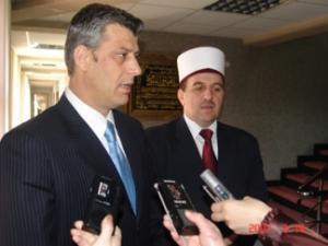 Хашим Тачи и Наим Тернава