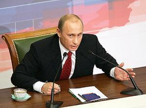 Путин поблагодарил Бога за свое президентство