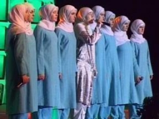 Улыбка мусульманки