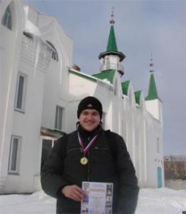 Юный чемпион Артур Манеров