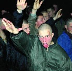 Русские нацисты. Фото: Курсор.Ру