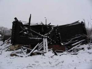 Вандалы сожгли мечеть в Ивановской области