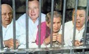 Буша хотят арестовать из-за войны в Ираке
