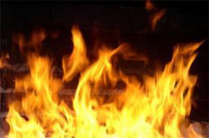 В московском торговом центре произошел крупный пожар