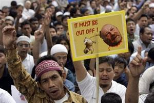 Тайские мусульмане протестуют против карикатур на пророка ислама