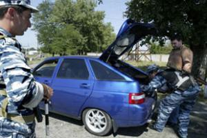 В последнее время в Ингушетии участились нападения на силовые структуры. Фото AFP