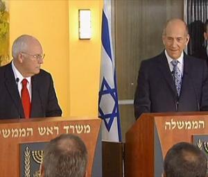 Чейни не говорил о праве палестинцев на возвращение оккупированных территорий, включая Иерусалим