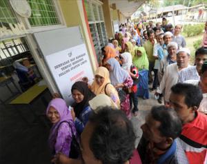 Первые итоги выборов в Малайзии